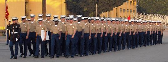Marine Corps Boot Camp Graduation